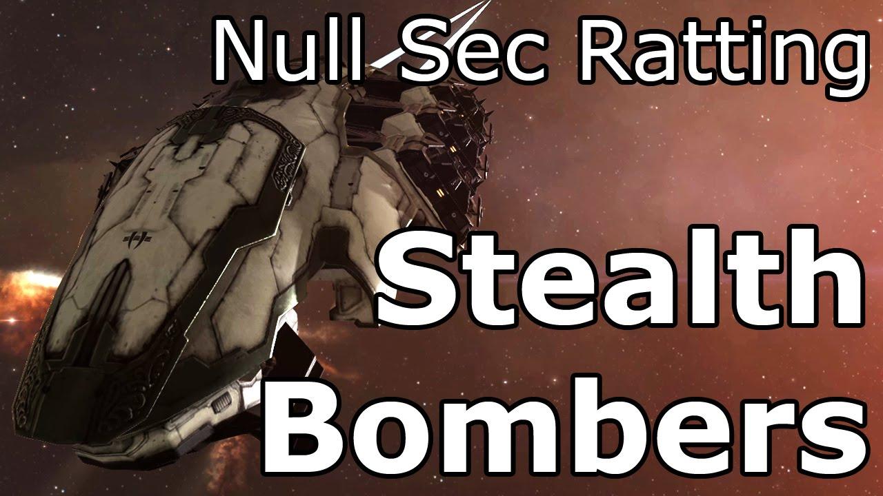 Eve online stealth bomber ratting webcam