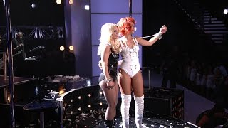 Rihanna ft. Britney Spears - S&M (Remix) 2011 Billboard Music Awards