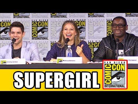 SUPERGIRL Comic Con 2017 Panel Part 1 - Season 3, News & Highlights
