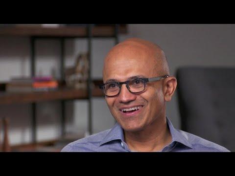 Microsoft CEO Satya Nadella on company's future