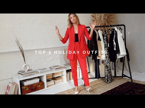 TOP 5 HOLIDAY OUTFITS