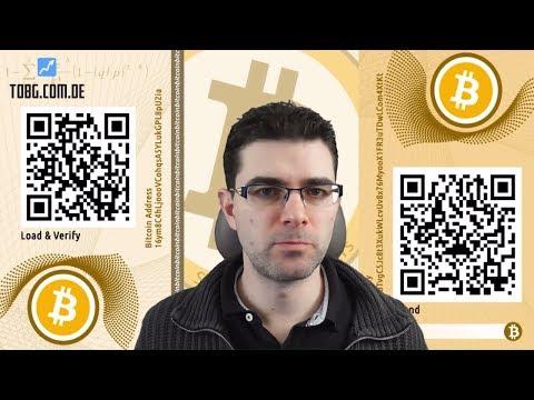 Krypto Paper Wallet für BTC, LTC & ETH. Vollständige Anleitung. Das Was und Wie!