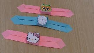 как сделать оригами часы