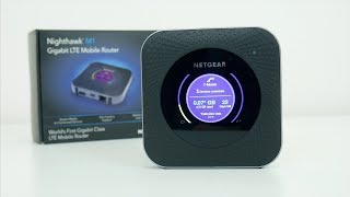 Nighthawk M1 Mobile Hotspot Router Review! Unlimited 4G LTE Data No Throttling