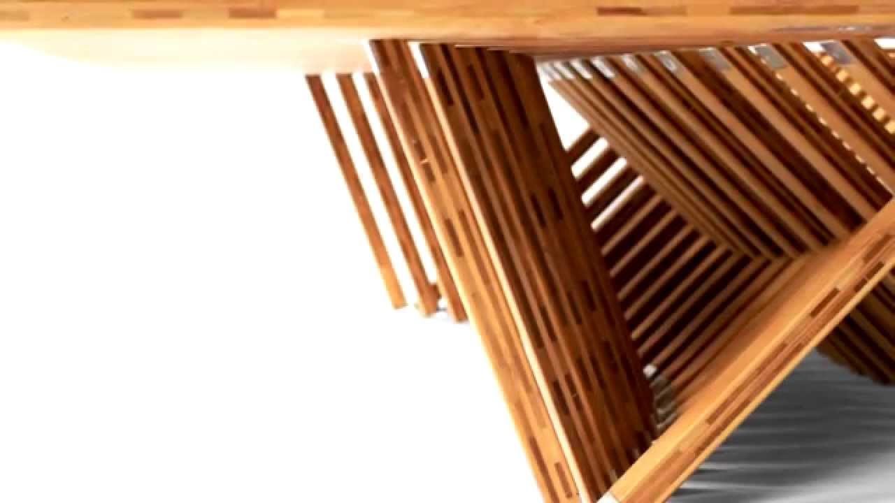 folding furniture Rising Table - YouTube