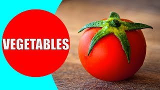 VEGETABLES for Kids to Learn - Vegetable Names for Children, Toddlers, Preschoolers in English