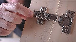 How to Choose Concealed Cabinet Hinges / Making A Better Hinge Jig