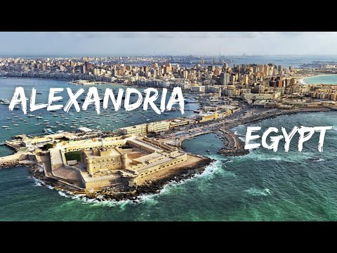 The beautiful city of Alexandria, Egypt. A travel vlog. الإسكندرية جميلة