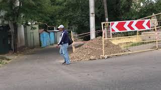 Алматы. Карантин. Город без общественного транспорта.