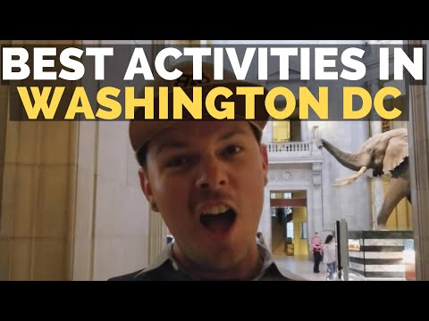 Explore DC at Halloween | Best Free Activites in Washington DC | Full-time RV Living