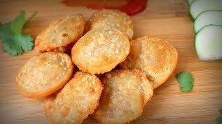 How To Make Dal Puri (ডাল পুরি)