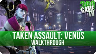 Destiny Taken Assault Venus Walkthrough - How to get the Quest Item - The Taken King