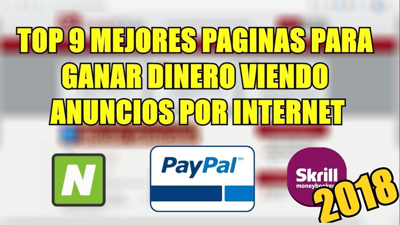 Top 7 Mejores Páginas Para Ganar Dinero Haciendo Encuestas Por Internet Para Paypal 2019 Pagan Youtube