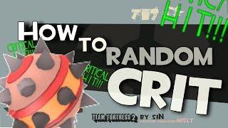 TF2: How to random crit