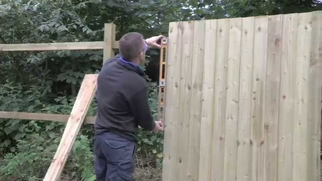 Easi Fence Step By Guide Timber