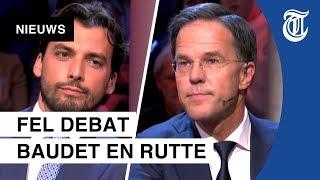 Thierry Baudet vraagt Mark Rutte wanneer hij voor het laatst heeft gehuild