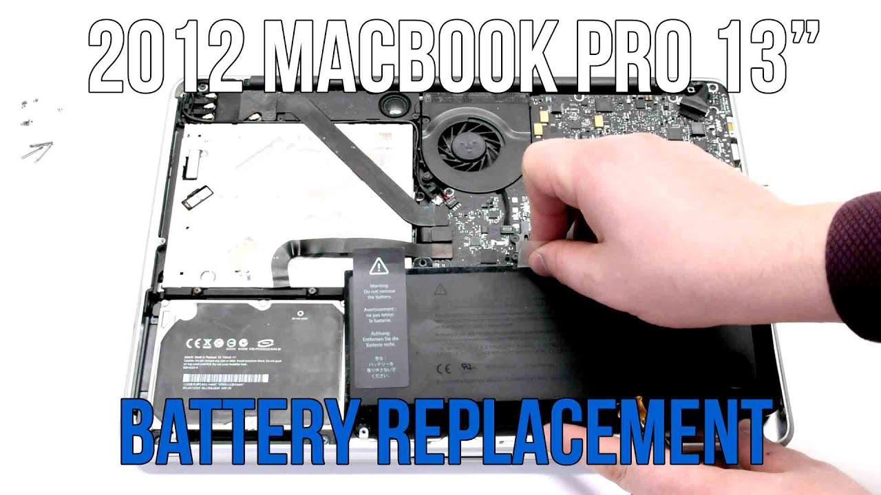 2012 Macbook Pro 13 A1278 Battery Replacement Youtube Baterai Original Apple A1322 Inchi Save Dollars