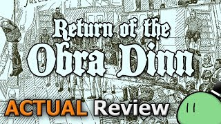 Return of the Obra Dinn (ACTUAL Game Review) [PC]