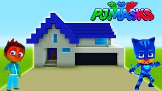 """Minecraft: How To Make Connors House (Cat Boys House) """"PJ Masks"""""""