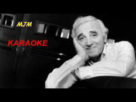 She --- KARAOKE --- In the style of Charles Aznavour