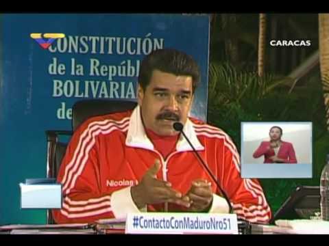 En Contacto Con Maduro #51, parte 6/17, Consejo Presidencial Educación, Carlos Quintero