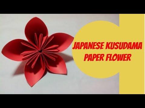 How to make japanese kusudama paper flower diy japanese kusudama how to make japanese kusudama paper flower diy japanese kusudama flower making mightylinksfo Gallery
