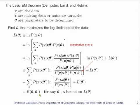 Opinionated Lessons in Statistics: #30 Expectation Maximization (EM) Methods