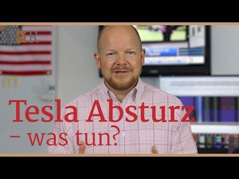 Tesla Absturz – was tun?
