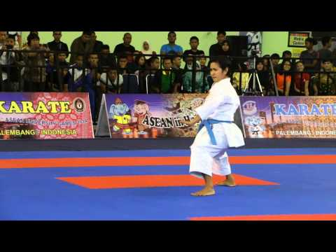 Asean University Games Female Individual Kata