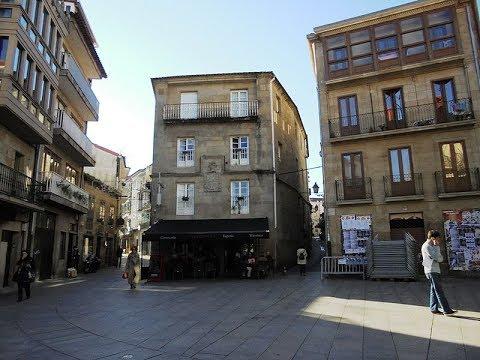 Places to see in ( Galicia - Spain ) Casco antiguo de Pontevedra