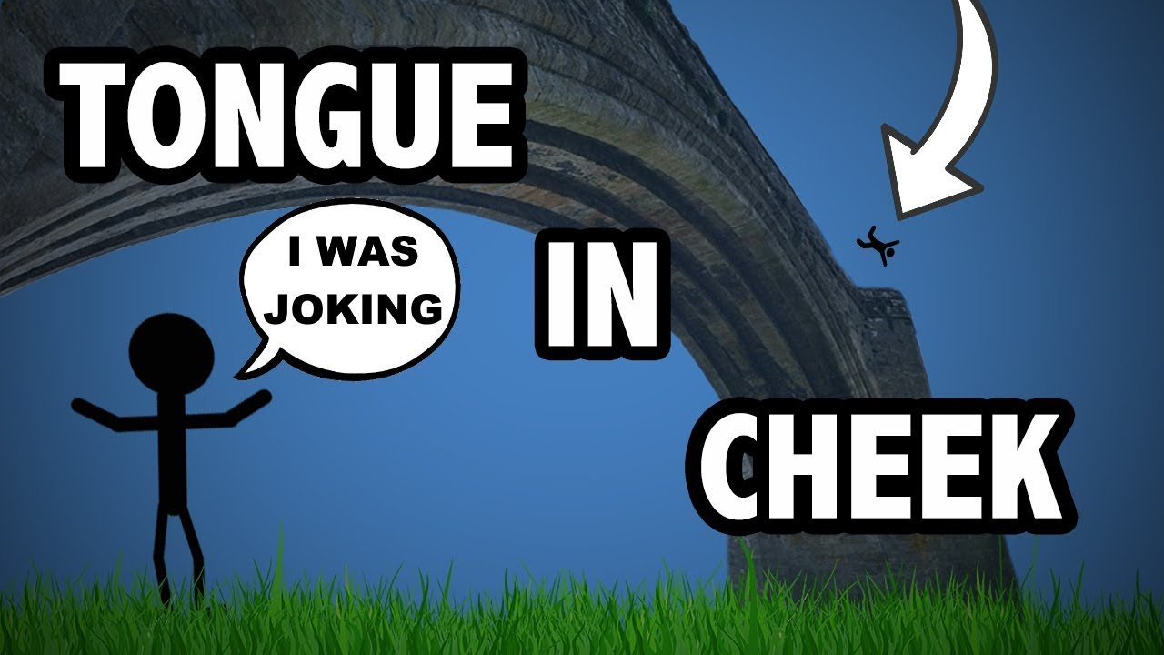 Learn English Tongue In Cheek Vocabulary With Pictures And