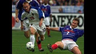 Франция 2 3 Россия Отборочный этап Евро 2000