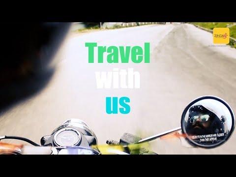 "Trailer of ""Dear Traveler"" a vlog by Zindagi24x7 media works"