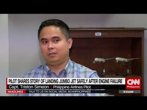 Pilot Shares Story Of Landing Jumbo Jet Safety After Engine Failure