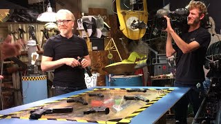 Ask Adam Savage: Those Scripted MythBusters Blueprint Segments