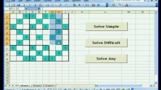 Solve Sudoku with Excel using VBA (simple)