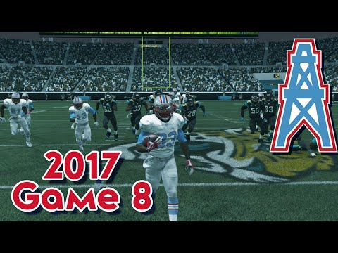Madden 15 Franchise Mode - Houston Oilers | Season 4, Game 8 @ Jaguars | Return of the King!!