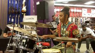 Greensboro, NC - Guitar Center Drum Off-9.27.16-Winner
