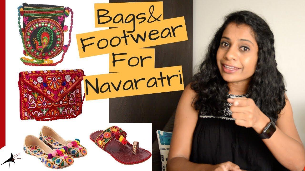 Garba Essentials   Footwear & Bags   Arpitharai