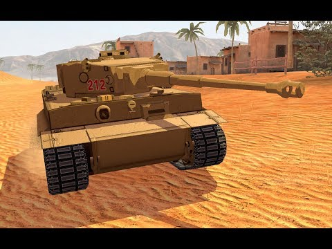World of Tanks Blitz - Girls und Panzer - Tiger! [ deutsch 🐄 gameplay ]