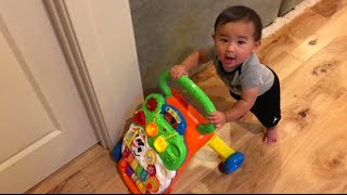 BEST INFANT TO TODDLER TOY! SIT TO STAND WALKER UPDATE!