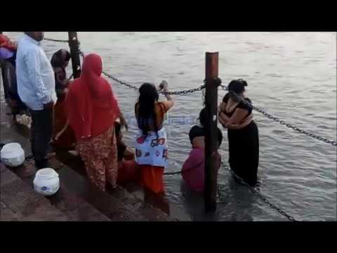 Bath in Ganga, Open, Haridwar
