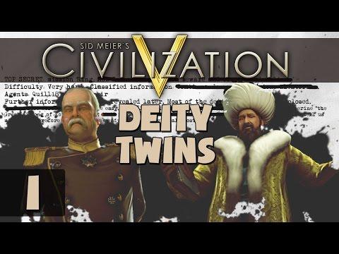 Civilization 5 Deity Twins Ring World - Part 1