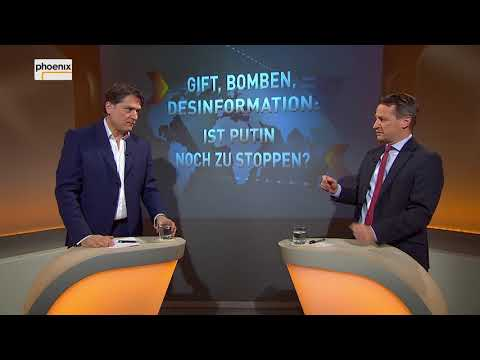 """Augstein und Blome vom 23.03.2018:  """"GIFT,BOMBEN,DESINFORMATION - IST PUTIN NOCH ZU STOPPEN?"""""""