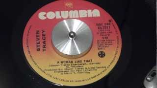 STEVEN TRACEY - A Woman Like That - 1984 - COLUMBIA