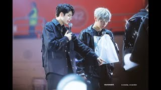 Wanna one premier Fancon in Seoul Day 1-3 OngNiel 옹녤 Moment [ Seongwu & Daniel]