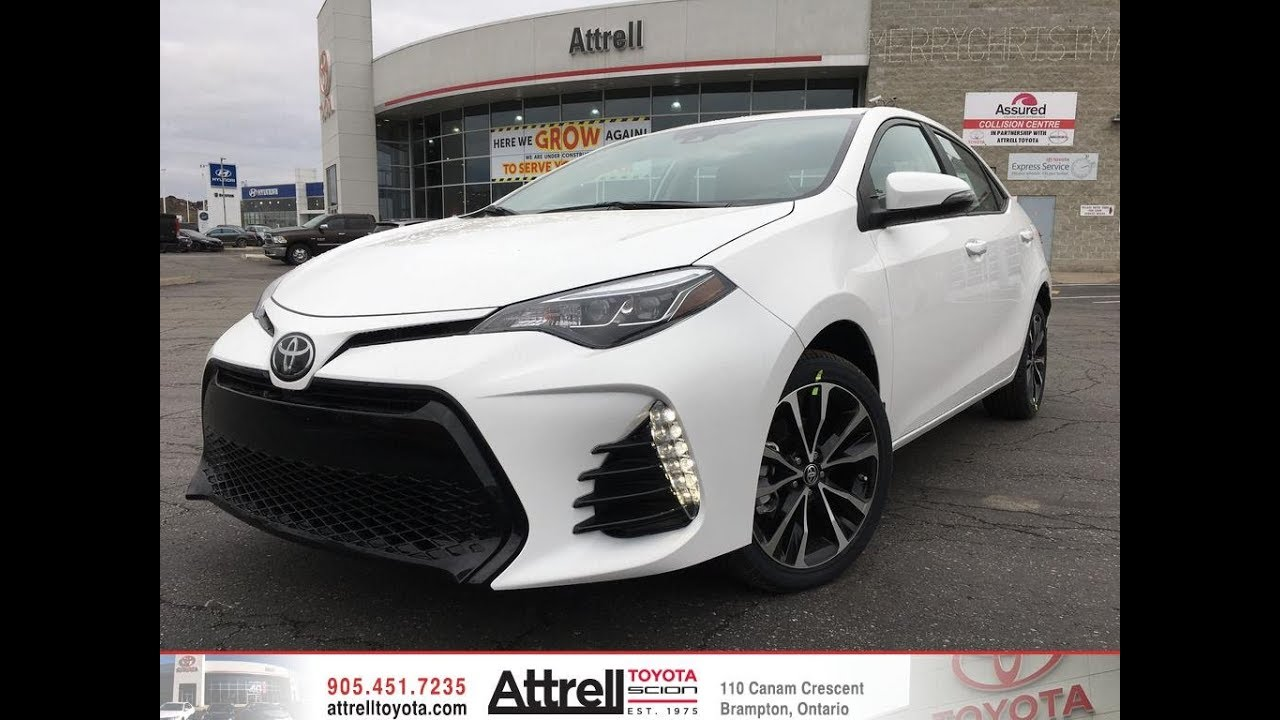 2018 Toyota Corolla Xse Review Brampton On Attrell