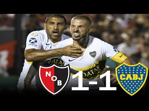 Newell's 1 - 1 Boca Juniors - Resumen completo - Superliga - Fecha 13