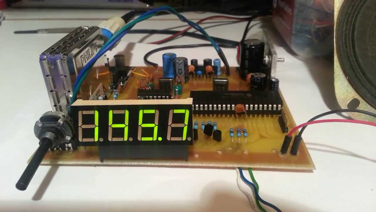 RDA5807 Two-channel Stereo FM Radio Module FM Receiver Board 76.0MHz~108.0MHz