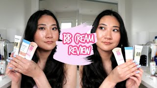 BB Cream Review   Nỳx Maybelline Covergirl   1st Impressions & Wear Test